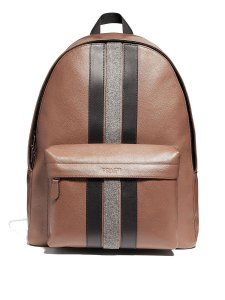 Coach Leather Brown Backpack