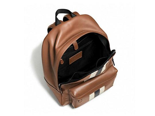 Coach Leather Brown Backpack Image 1