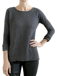 Rag & Bone Cashmere Designer Crew Neck Crewel Sweater