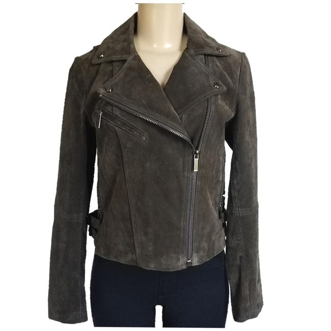 Preload https://img-static.tradesy.com/item/24362389/bagatelle-army-green-suede-jacket-size-2-xs-0-0-650-650.jpg