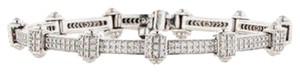 PHILIPPE CHARRIOL PHILIPPE CHARRIOL 18k White Gold Pave Diamond Bracelet 1.00 tcw