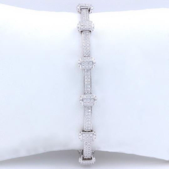 PHILIPPE CHARRIOL PHILIPPE CHARRIOL 18k White Gold Pave Diamond Bracelet 1.00 tcw Image 1