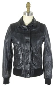 DOMA Designer Bomber Leather Jacket