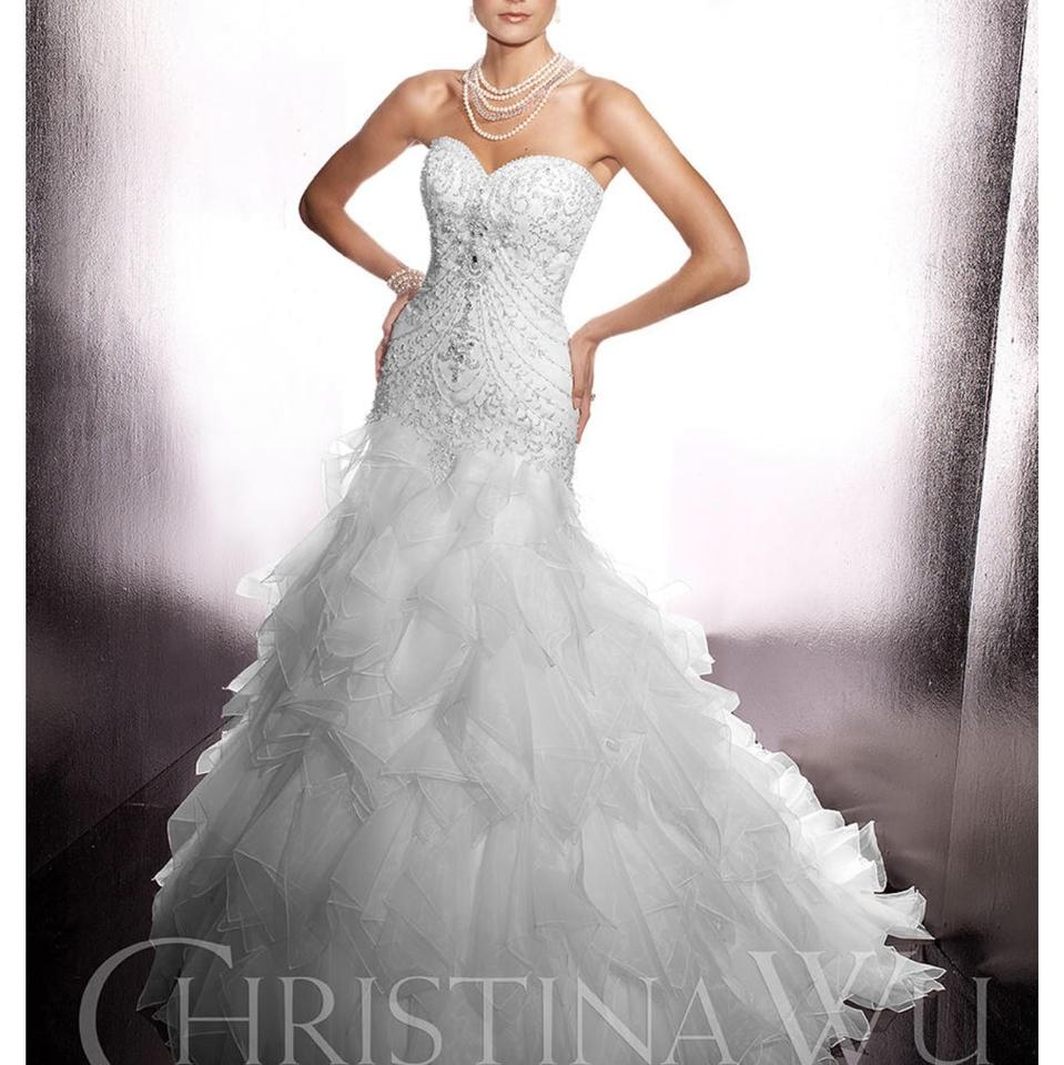 Wedding Gown Boutique: Christina Wu Ivory Designer Bridal Gown Formal Wedding