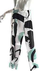 Issey Miyake Pleats Please Relaxed Pants Multi Color