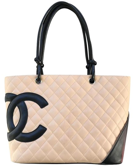 Preload https://img-static.tradesy.com/item/24363206/chanel-shopping-tote-cambon-quilted-beige-lambskin-leather-tote-0-1-540-540.jpg