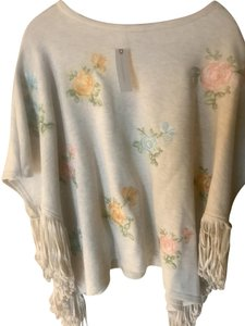 Anthropologie Embroidered Cape