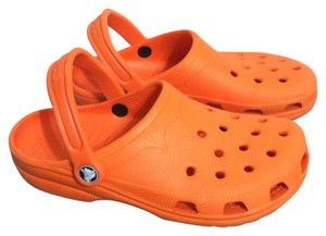 Crocs Orange Mules