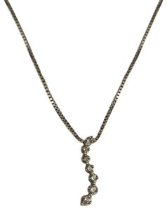 Kay Jewelers White Gold Journey Diamond Necklace