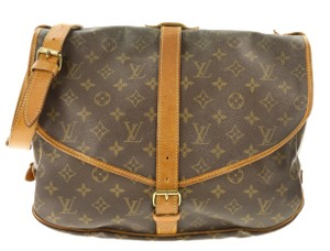 Louis Vuitton Saumur Saumur 35 Monogram Shoulder Bag
