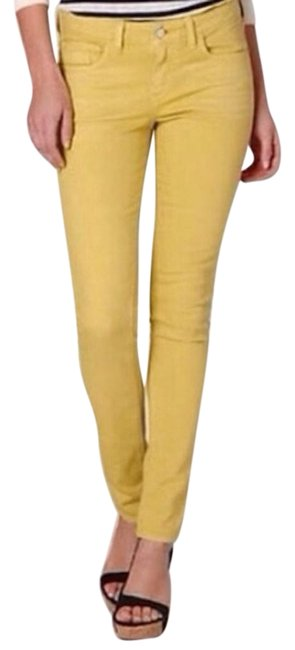 Item - Mustard Yellow Coated Hyphen Capri/Cropped Jeans Size 27 (4, S)