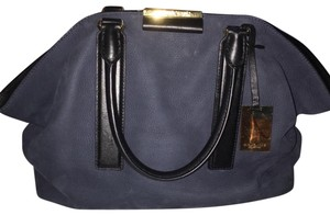 Michael Kors Collection Satchel in Navy and Black