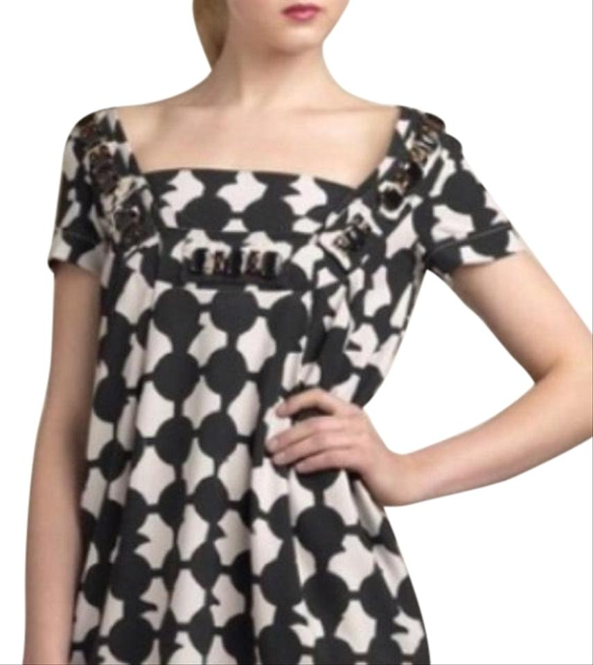 b345bcbe103 Karta Black and Ivory 1089848 Short Cocktail Dress Size 8 (M) - Tradesy