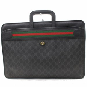 Gucci Attache Briefcase Portfolio Document Case Laptop Bag
