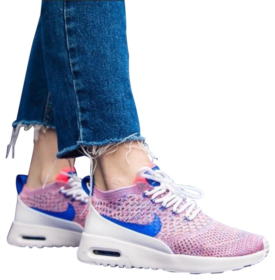 best cheap 19cfd 09386 Nike Pink Nwob Women's Air Max Thea Ultra Flyknit Running Sneakers ...