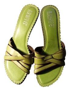 Franco Sarto Lime Green Sandals