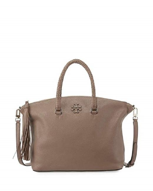 Item - Taylor Silver Maple Leather Satchel