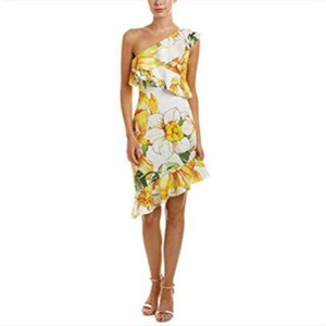Alexia Admor short dress Yellow on Tradesy