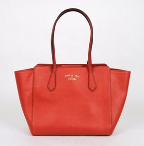 Gucci Leather 354408 6516 Tote in Red