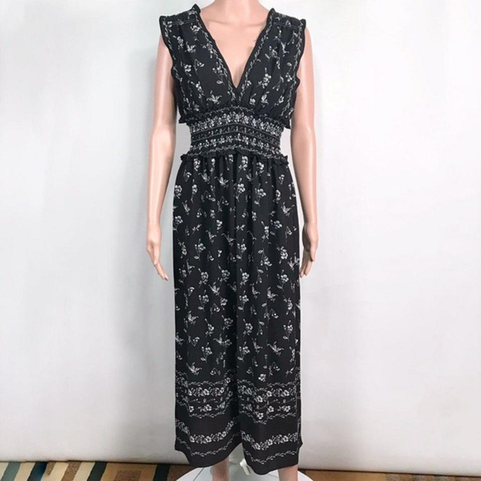 top-rated quality hot-seeling original top-rated authentic Black Casual Maxi Dress