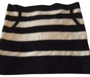 Bebe Skirt Black & White