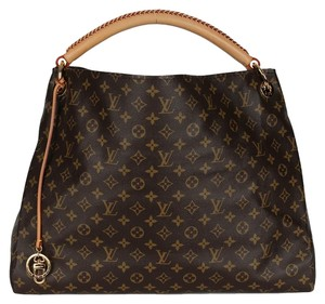 Louis Vuitton Artsy Shoulder Monogram Canvas Hobo Bag