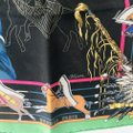 Hermès Hermes Scarf Pani La Shar Pawnee The New Washed Silk Carre 90 Black Gr Image 5