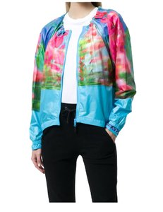 adidas By Stella McCartney ADIDAS BY STELLA MCCARTNEY RUN ADIZERO PRINTED JACKET