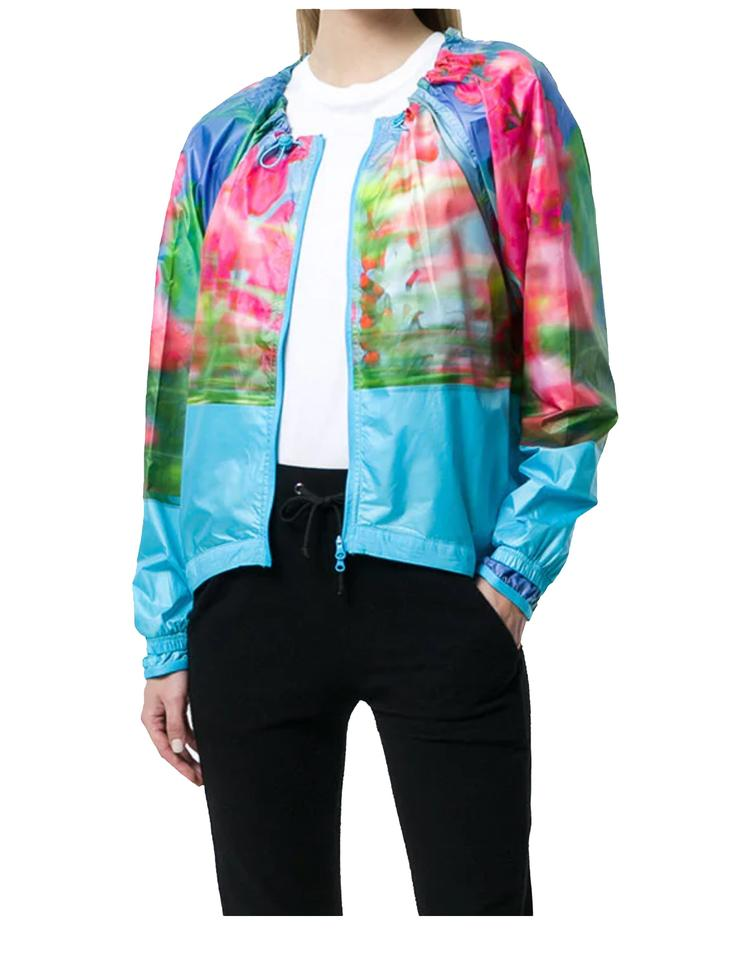 7f51f02f6fd9 adidas By Stella McCartney ADIDAS BY STELLA MCCARTNEY RUN ADIZERO PRINTED  JACKET Image 0 ...