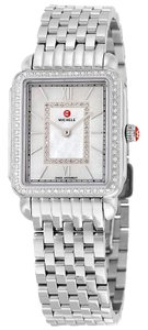 Michele Deco II Mid Stainless Mother of Pearl Diamond Dial MWW06I000001