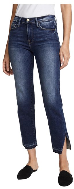 Item - Granby Distressed Frame30642 Capri/Cropped Jeans Size 4 (S, 27)
