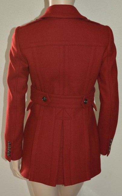 Burberry Brit Double Breasted Pea Coat Image 6