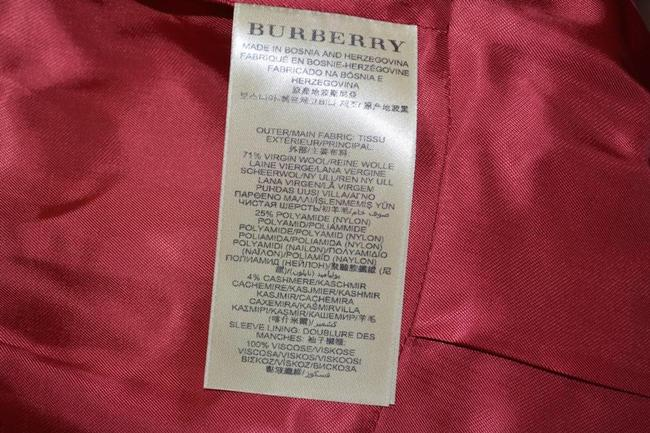 Burberry Brit Double Breasted Pea Coat Image 8