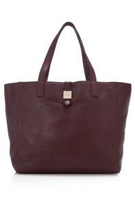 Mulberry Tote in burgundy