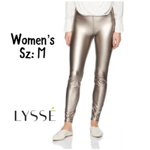 Lyssé Metallic Leggings