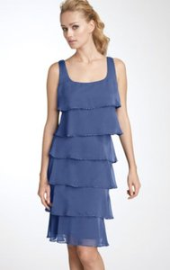 Patra Nordstrom Chiffon Tiered Beaded Dress