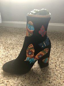 Valentino Butterfly Black Boots