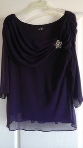 MSK Holiday Top Purple