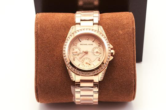 Michael Kors Blair Rose Gold-Tone Stainless Steel Chronograph Watch Image 1