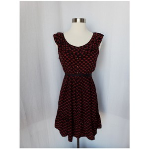 Modcloth short dress Navy and red on Tradesy