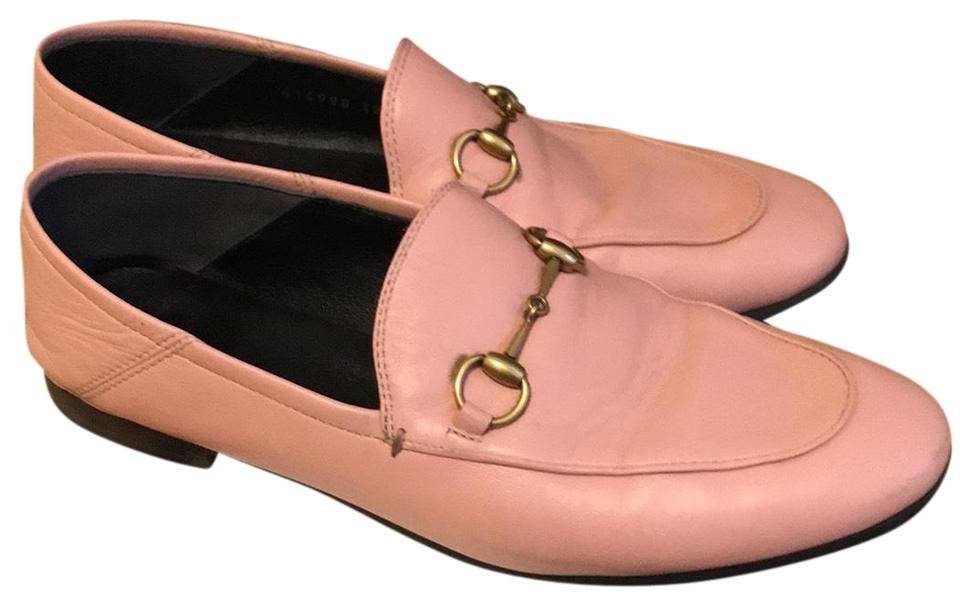 120959be85c Gucci Pink Princetown Loafer Flats Size US 8 Regular (M
