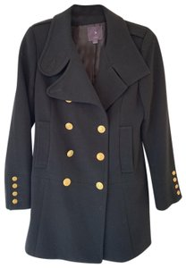Forever 21 Double Breasted Winter Pea Coat