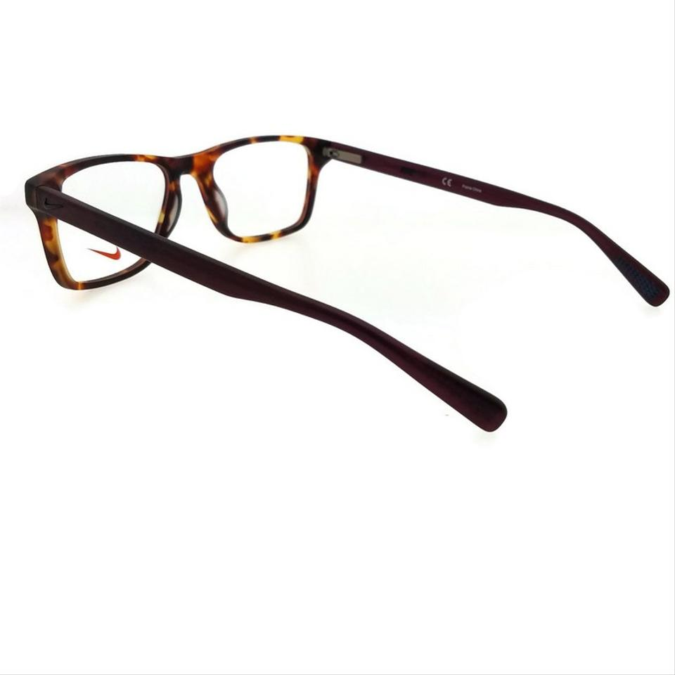 96d1c10e48b Nike 7243-242-52 Square Men s Tortoise Frame Clear Lens Genuine ...