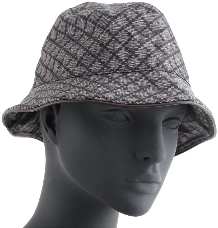 Gucci Grey Canvas Bucket Hat - Tradesy 6368cbc6481