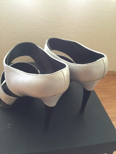 Devi Kroell Black And Silver Sandals Image 2