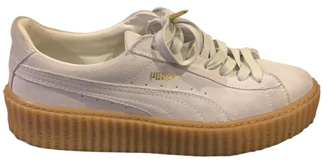 Item - White Creepers Sneakers Size US 10 Regular (M, B)