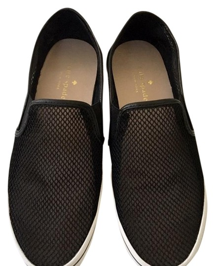 Preload https://img-static.tradesy.com/item/24369131/kate-spade-black-mesh-slip-on-sneakers-flats-size-us-75-regular-m-b-0-1-540-540.jpg