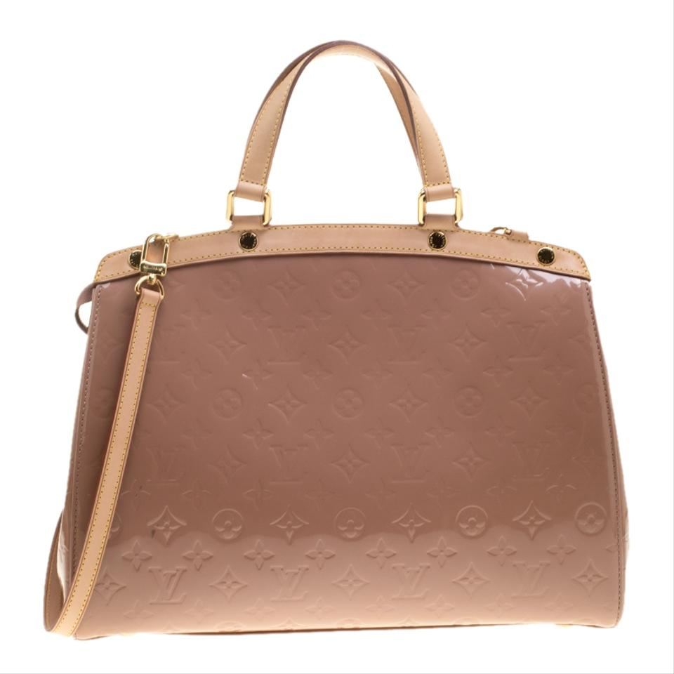 3112ee2b67874 Louis Vuitton Florentine Brea Rose Monogram Vernis Gm Beige Patent Leather Shoulder  Bag - Tradesy