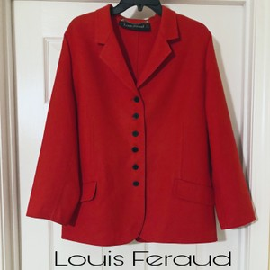 Louis Feraud red Blazer
