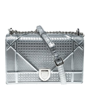 Dior Patent Leather Leather Shoulder Bag